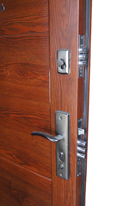 Ручки на планке для двери форпост master lock кватро автомат l