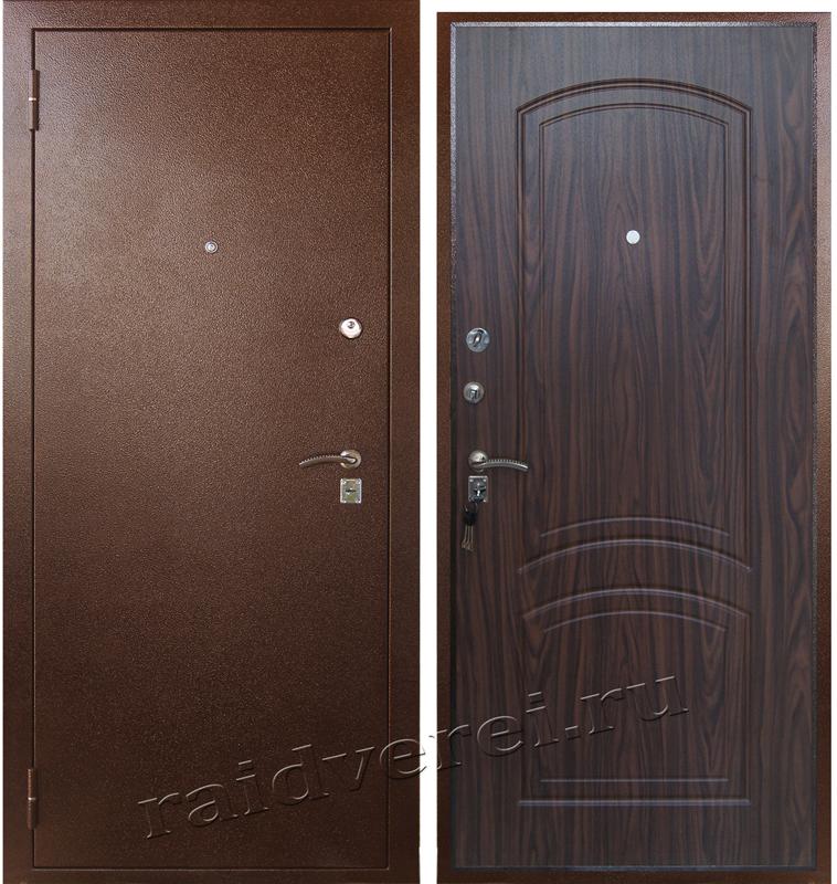 входные двери А-4 орех