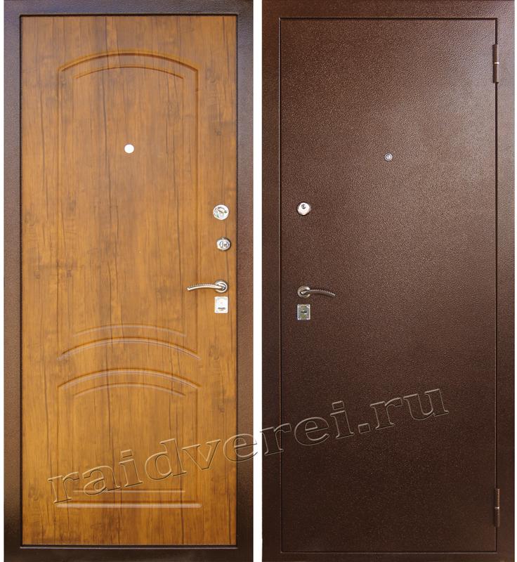 входная дверь А-4 дуб