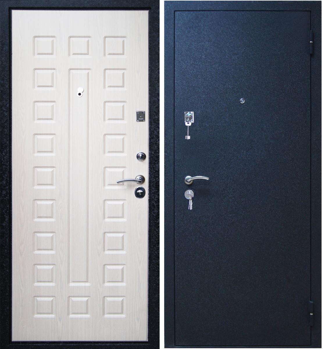 стальные двери от производителя чёрный крокодил