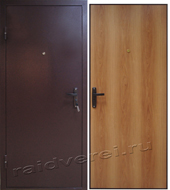 клинские стальные двери эконом класса с установкой