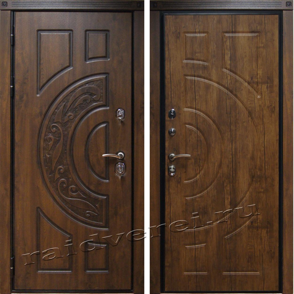входные двери Милан-тмный дуб