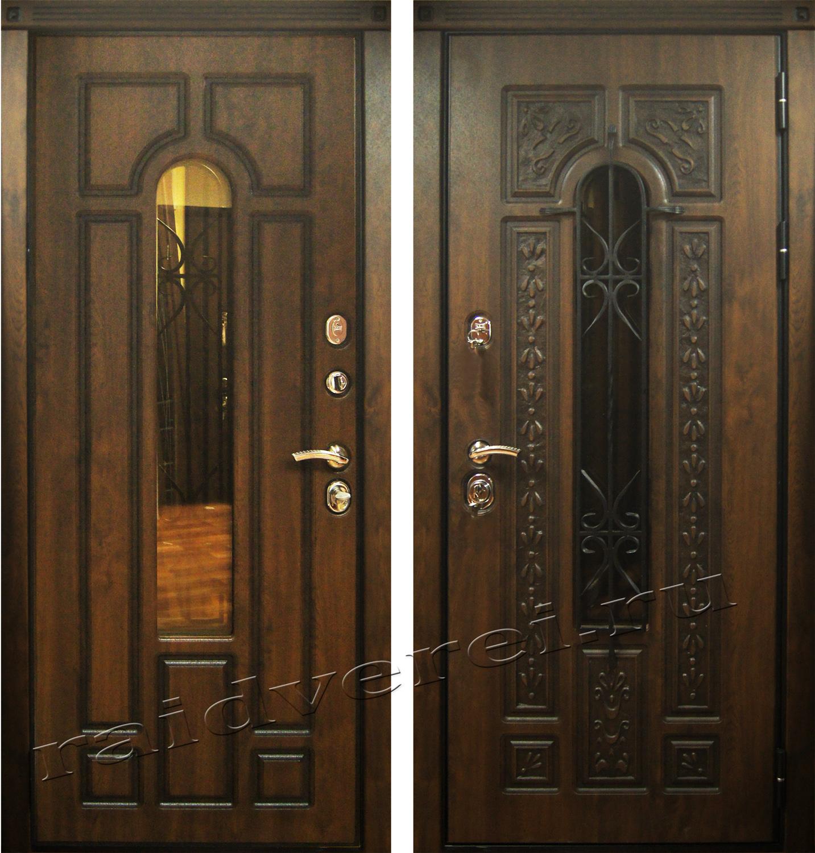 входные двери Палермо стекло ковка