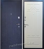 входные двери из светлого железа