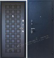 трех контурная стальная дверь