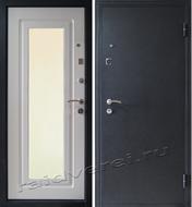 входная дверь металлическая с зеркалом заказать москва