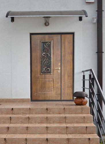 металлические двери уличный вариант на южном шоссе