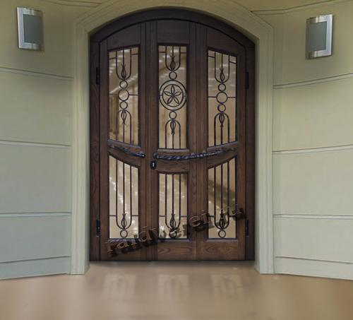 входная железная дверь для загородного дома заказать